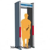 6 Zones Walk-Through Metal Detector with LED Alarm Light