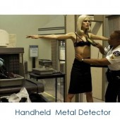 Handheld Metal Detector with Adjustable Sensitivity and Vibration Alert