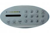 8 Zones Walk Through Metal Detector (Remote Control,5.7Inch LCD Display)