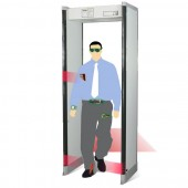 33 Zones Walk Through Metal Detector
